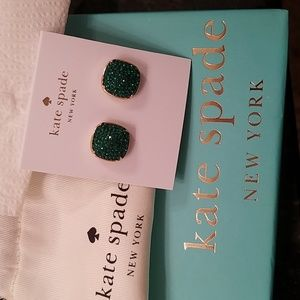 Kate Spade Emerald Earrings